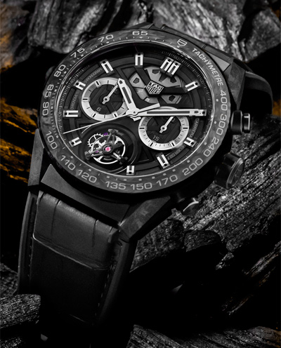 The Carrera collection goes carbon