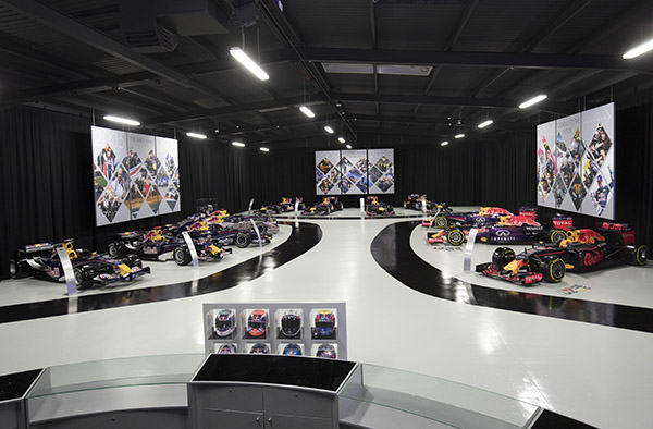 Behind the scenes at Red Bull Racing