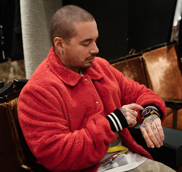TAG Heuer and Vice profile the influential J Balvin
