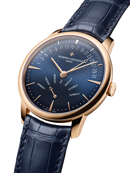A majestic blue for the Patrimony
