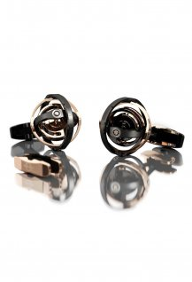 """Gyro"" cufflinks - Reference 1800"