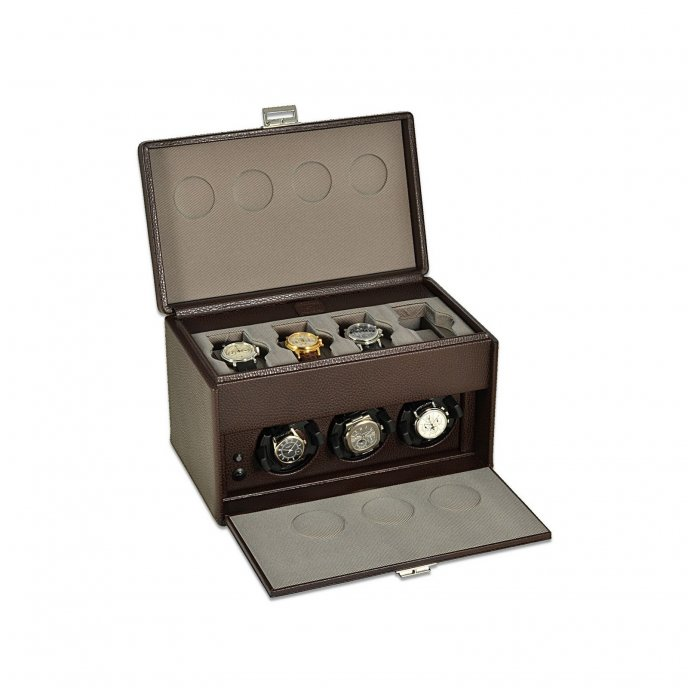 Scatola del Tempo - 7RT OverSize watch winder - open