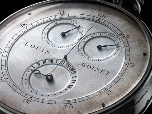 Louis Moinet - The first ever chronograph