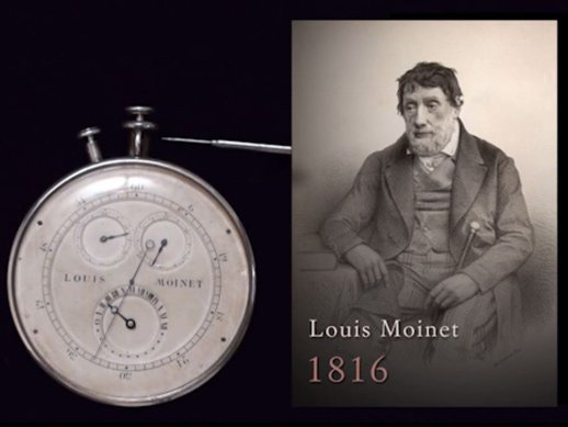 Louis Moinet - The chronograph history