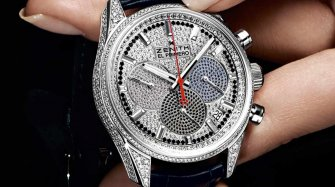 El Primero 36'000 VpH, gemset version Trends and style