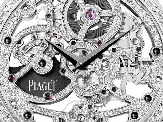 Piaget - Altiplano automatic gem-set Skeleton