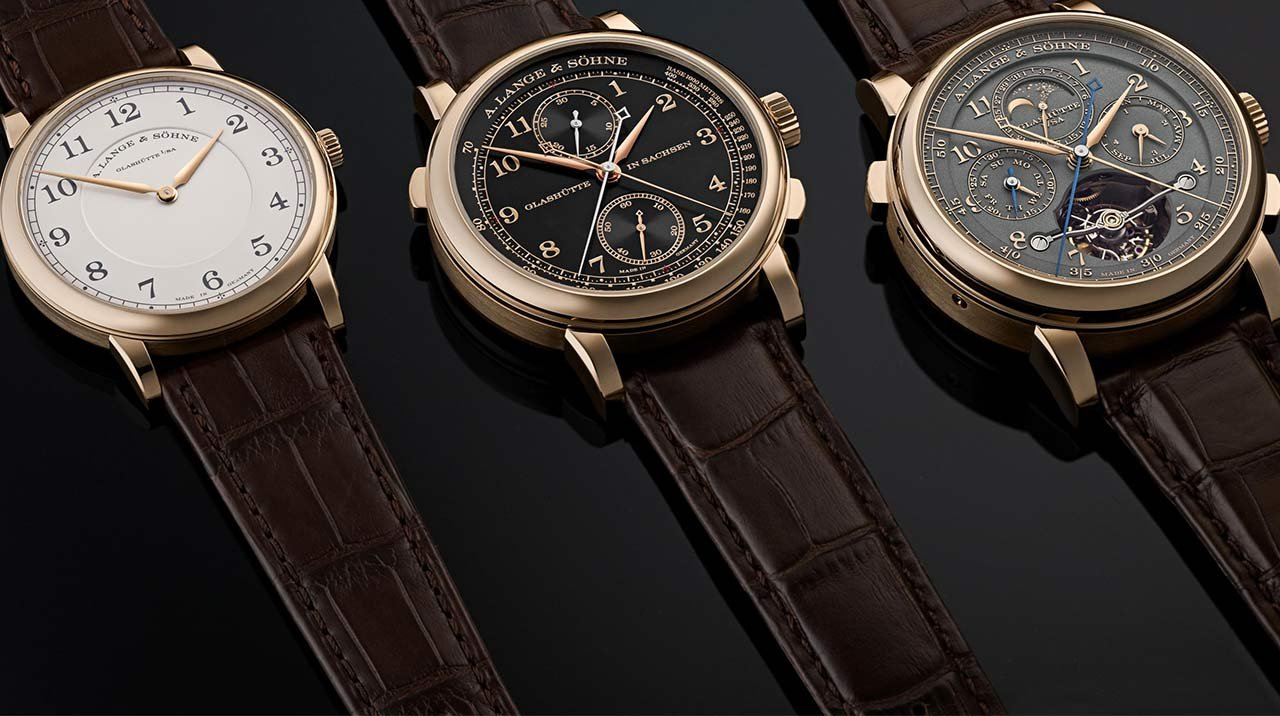 "A. Lange & Söhne  - The special edition  ""Homage to F. A. Lange"""
