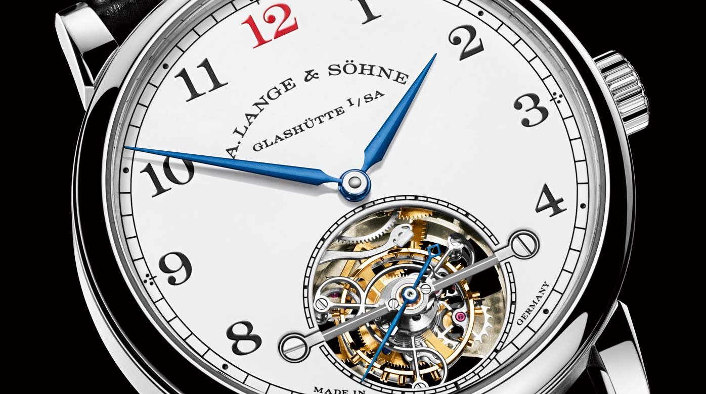 A. Lange & Söhne - Limited-edition 1815 Tourbillon with enamel dial