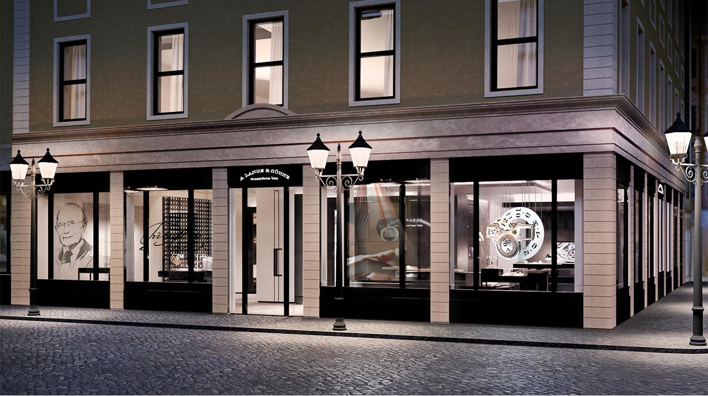 A. Lange & Söhne  - A new Boutique in Dresden