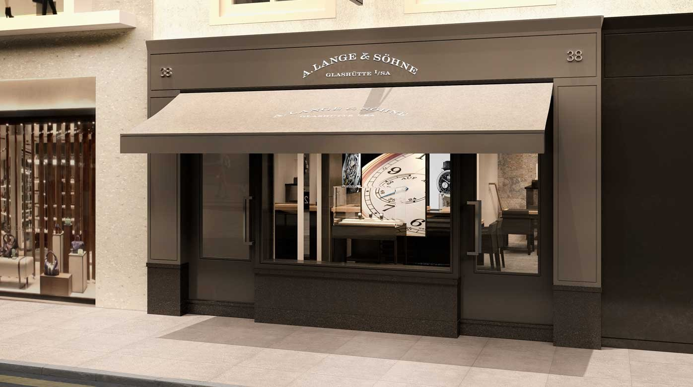 A. Lange & Söhne - A. Lange & Söhne opens a new boutique in London