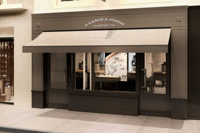 A. Lange & Söhne opens a new boutique in London
