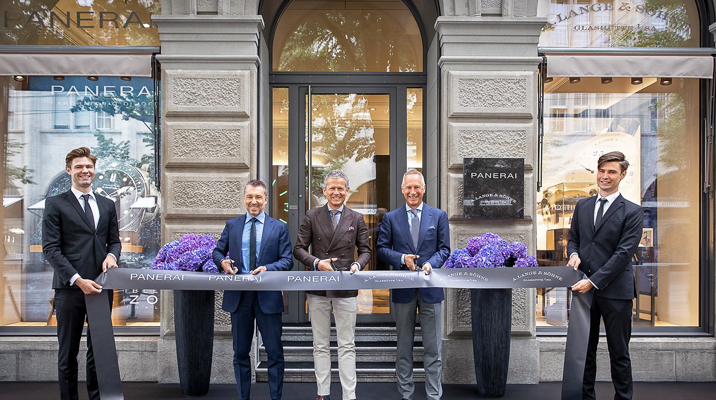 A. Lange & Söhne - Saxon watchmaker opens a first boutique in Switzerland