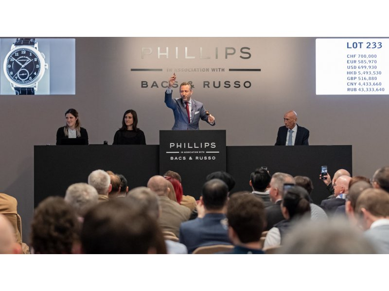 """1815 """"Homage to Walter Lange"""" auctions for CHF 852500"""