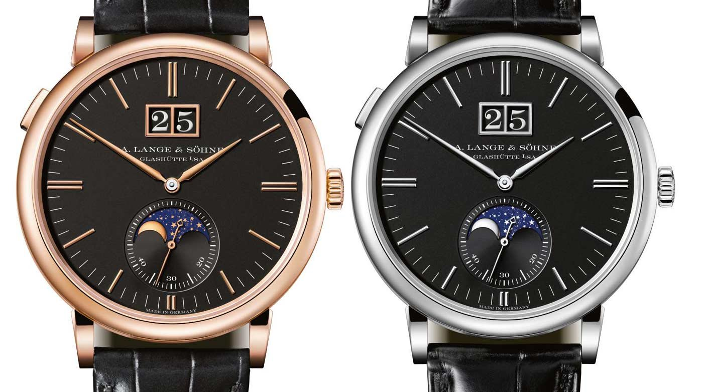 A. Lange & Söhne - Saxonia Moon Phase
