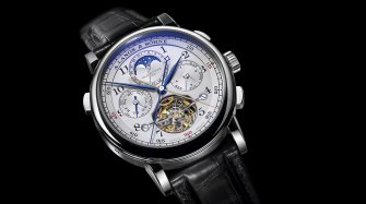 "Tourbograph Perpetual ""Pour le Mérite"" Innovation and technology"