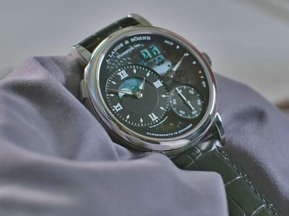 "A. Lange & Söhne - Video. Anthony de Haas about the ""Lumen"""