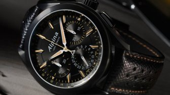 Alpiner 4 Manufacture Flyback Chronograph «édition noire» Style & Tendance