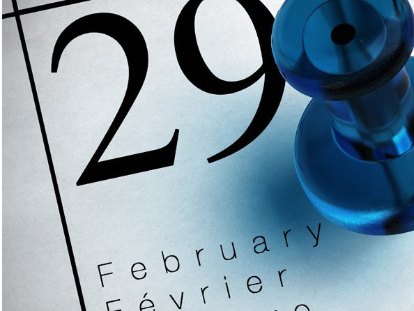 Calendrier Annee Bissextile.Annee Bissextile Des Calendriers De Luxe Style