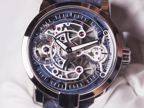 Armin Strom -  Vidéo. Armin Strom Skeleton Pure Collection