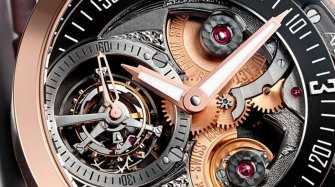 Tourbillon Gravity Fire Trends and style