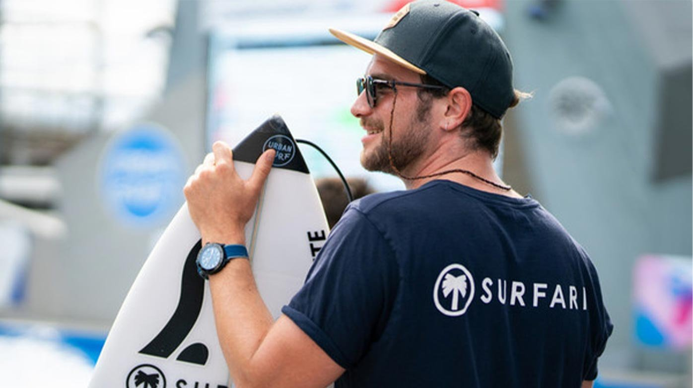 Alpina  - Alpina surfs the wave with the Swiss Surfing Association