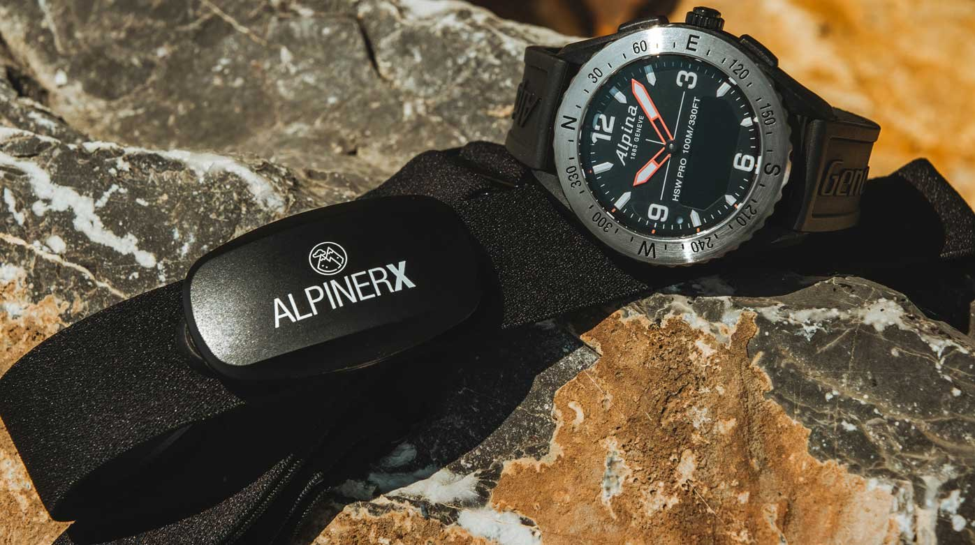 Alpina - New heart rate monitoring belt for AlpinerX