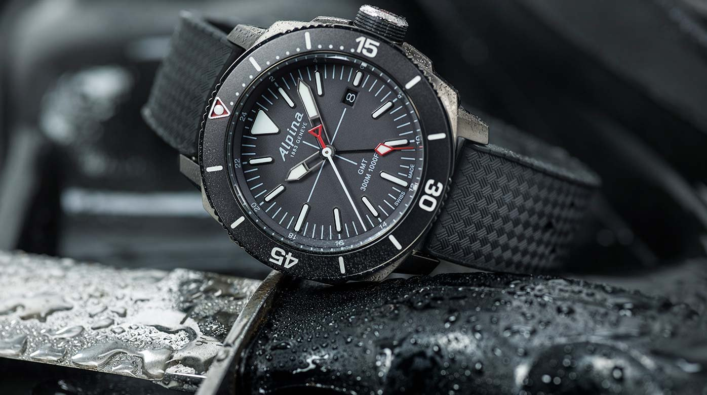 Alpina Seastrong Diver GMT Trends And Style WorldTempus - Alpina diver