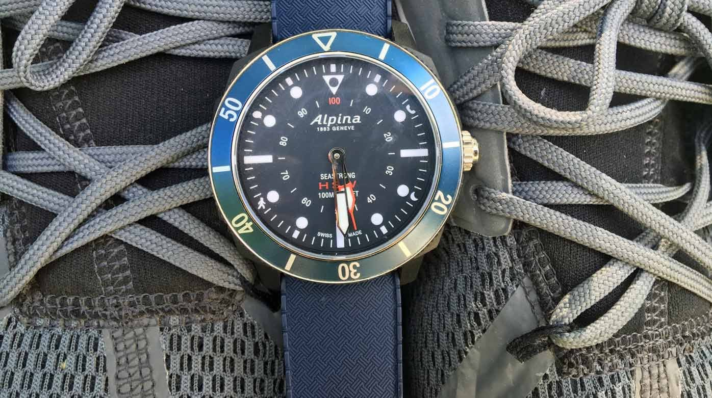 Alpina Seastrong - Demystifying the smartwatch