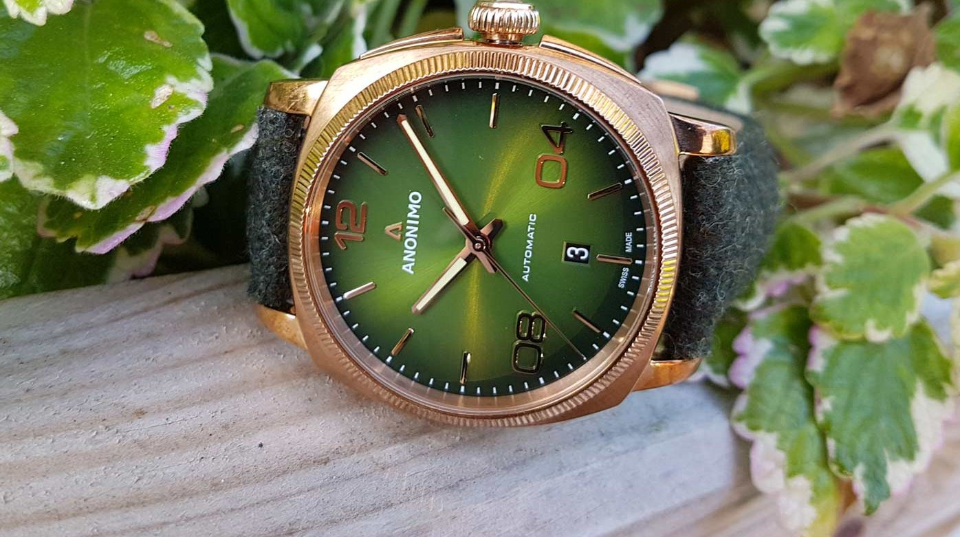 Anonimo - Epurato: a green you can wear without moderation