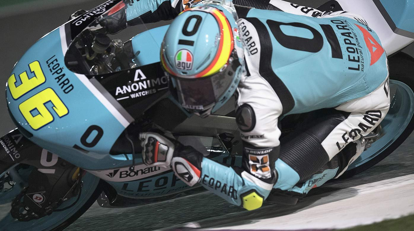 Anonimo - Double victory for Moto3 rider Joan Mir