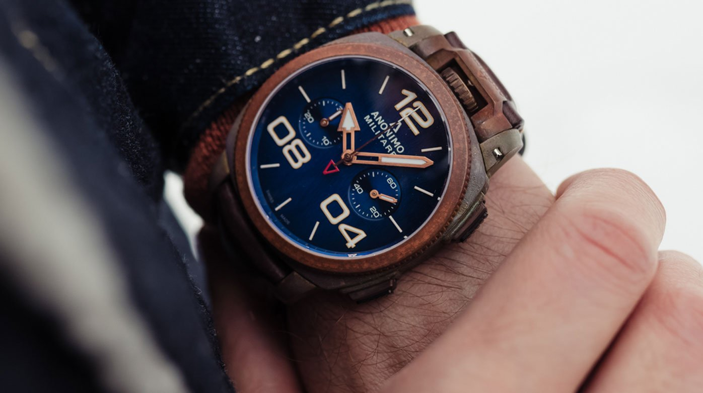 Anonimo - A Militare limited edition with a unique patina