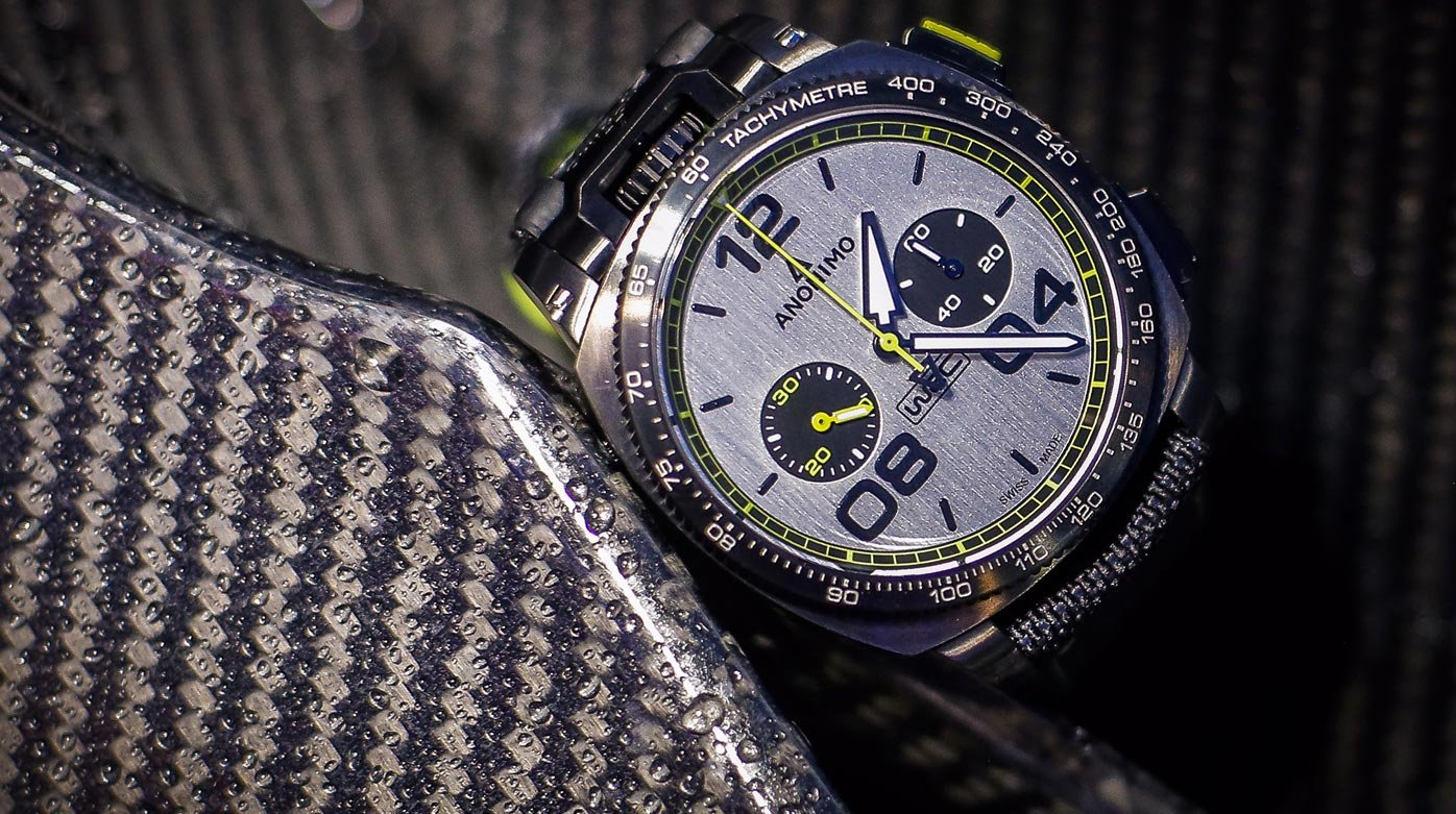 Anonimo - Official timekeeper of the World Rally Championship