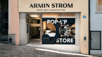 Grand Opening of the First Armin Strom Pop-Up Store in Zurich Retail