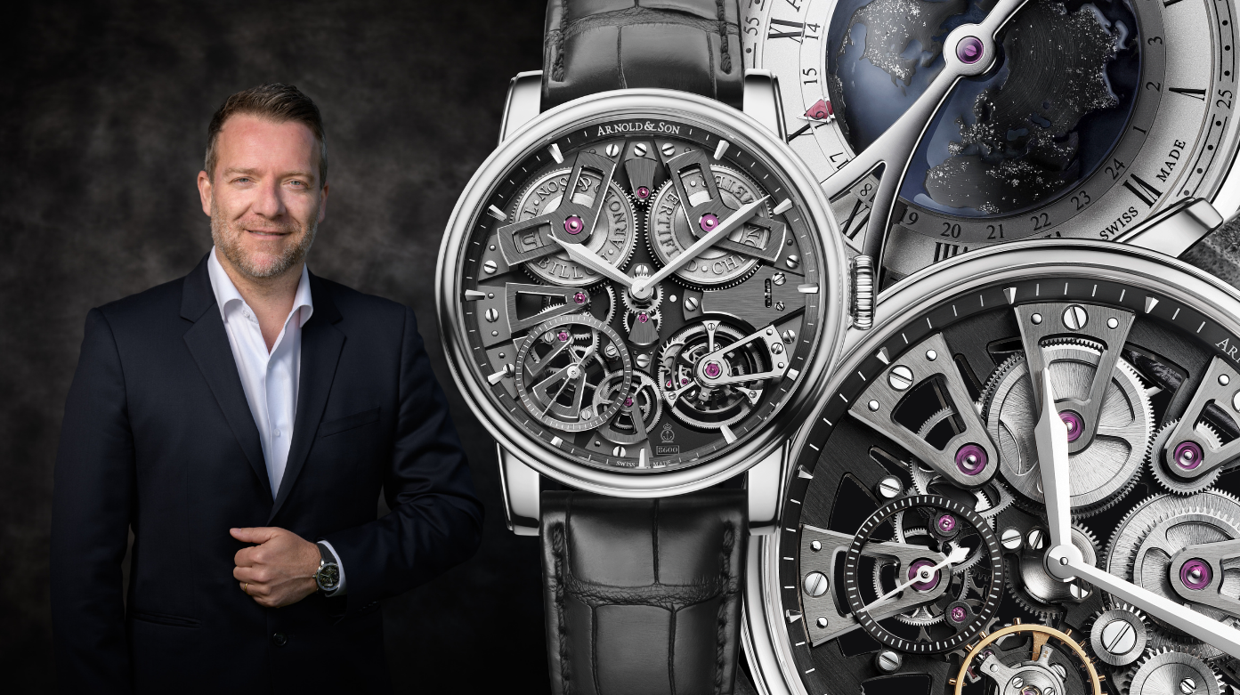 Arnold & Son - Ten Minutes With Bertrand Savary: Discover The Man Behind Arnold & Son