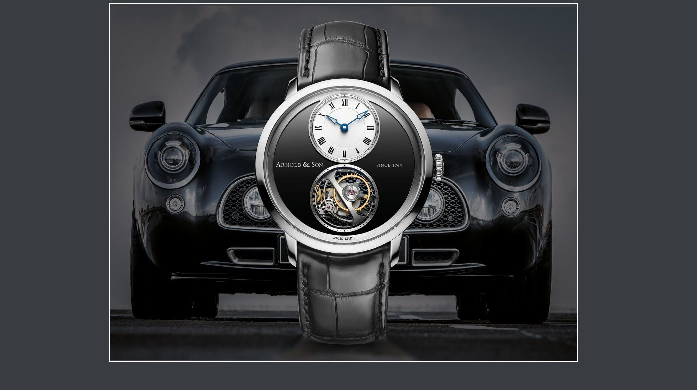 Arnold & Son  - At the Geneva Motor Show with David Brown Automotive