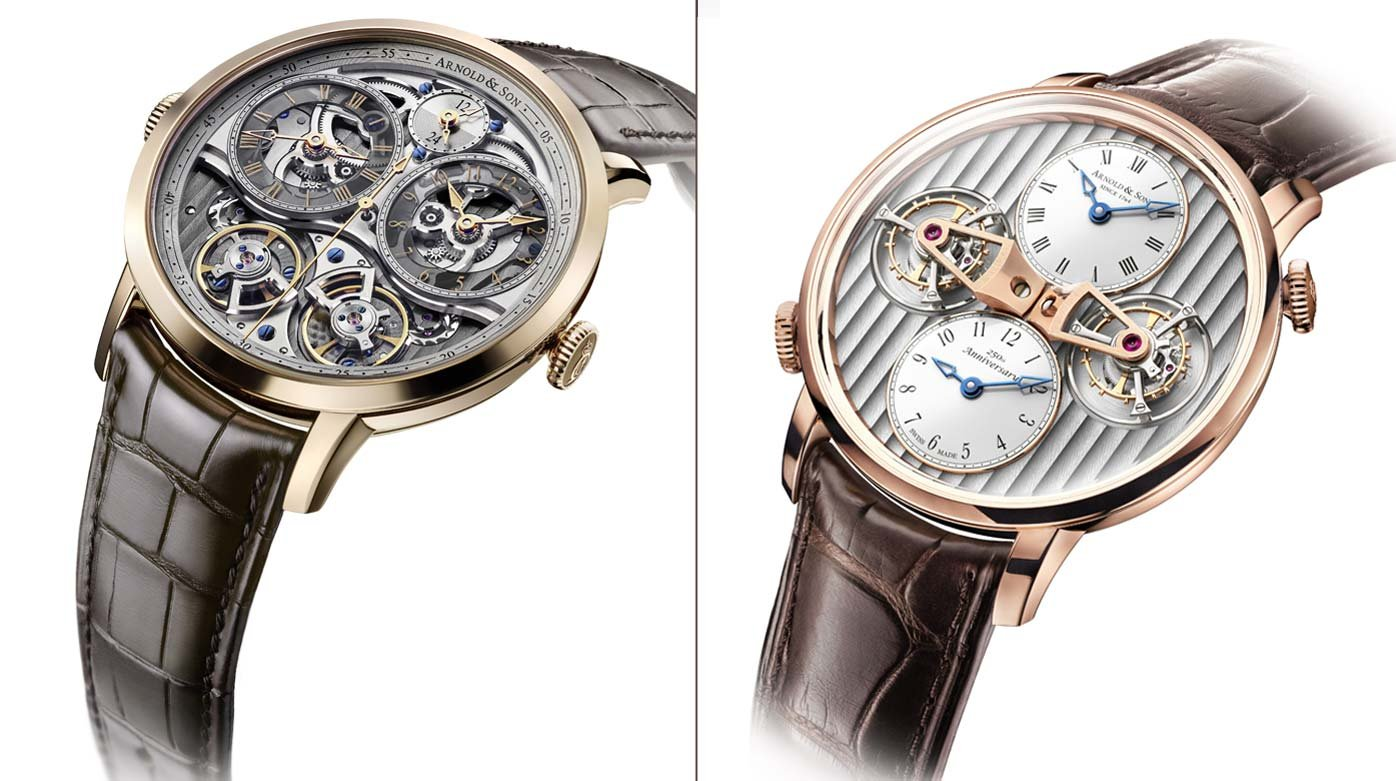 Arnold & Son - Seeing double with Arnold & Son