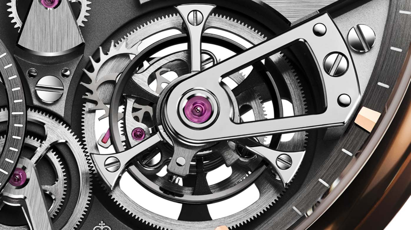 Tourbillons - Four Ts for five tourbillons