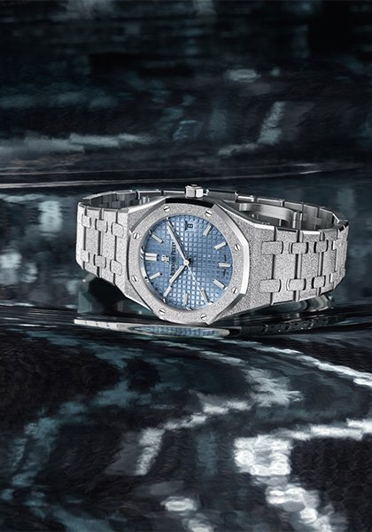 Royal Oak Frosted Gold Automatique 34mm
