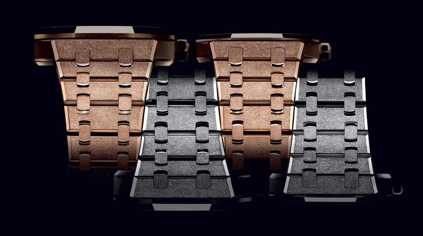 Audemars Piguet - Fabrication de la Royal Oak Frosted Gold