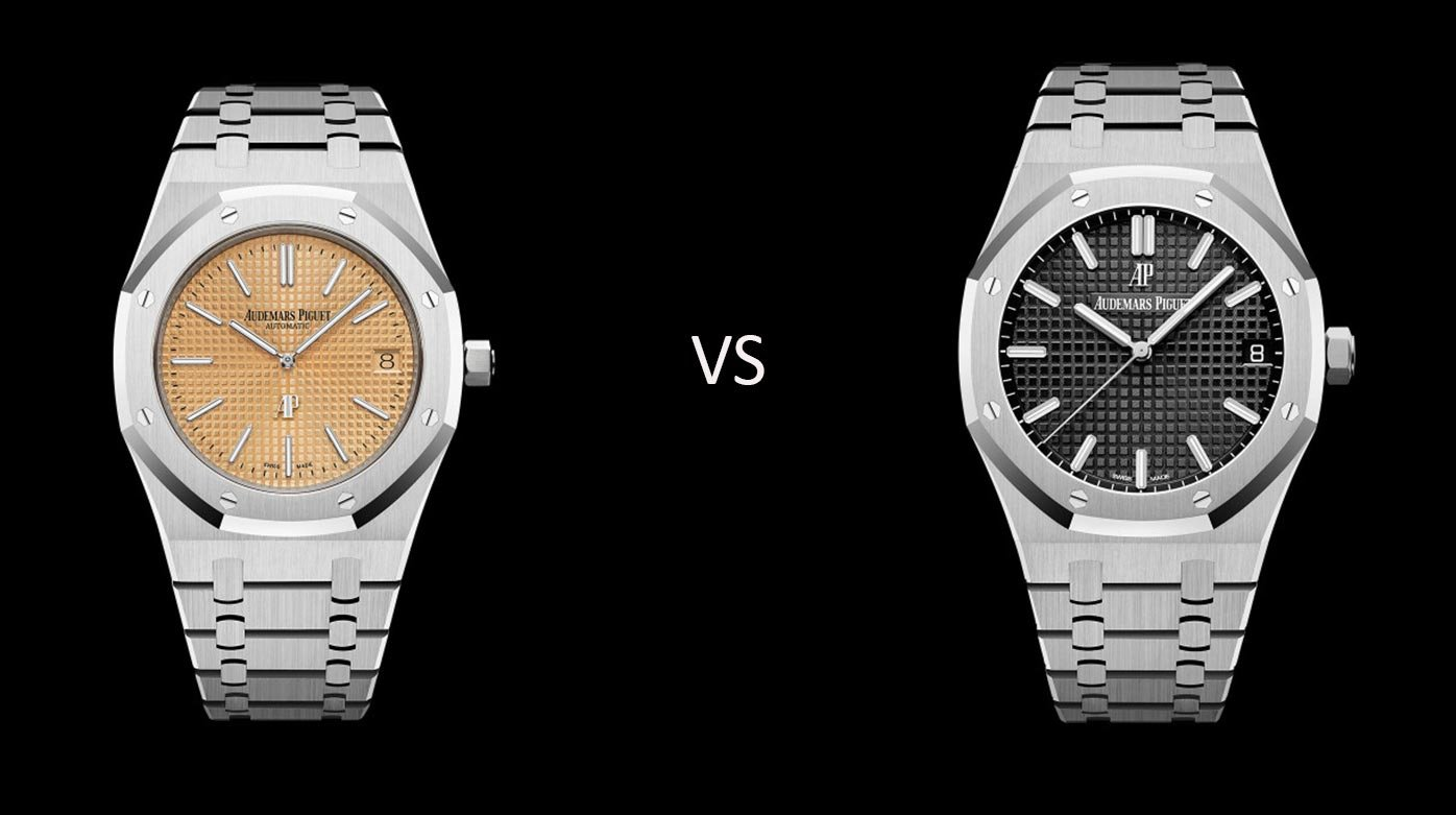 Why not...? - Karl and Gérald: Audemars Piguet Royal Oak – Jumbo or 15500?