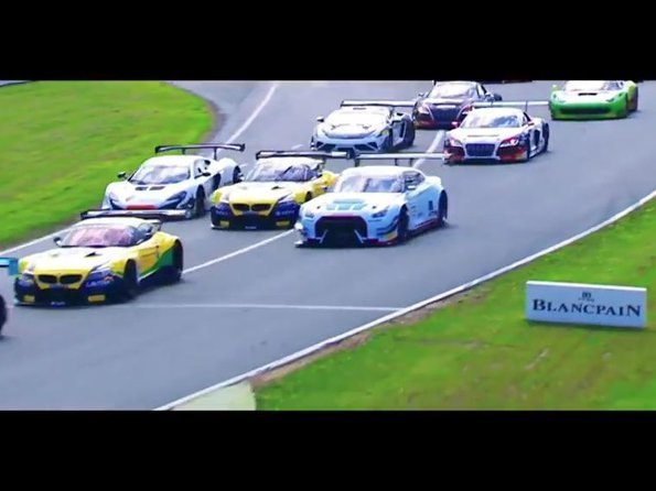 Blancpain - Video. Blancpain Sprint Series 2015 - Best of