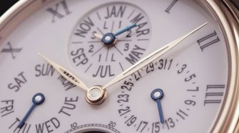 Video. Villeret 8-Day Perpetual Calendar  Trends and style