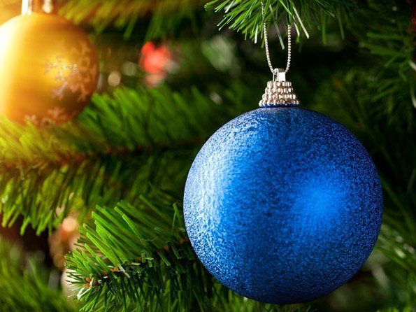 Christmas gifts - Dreaming of a blue Christmas