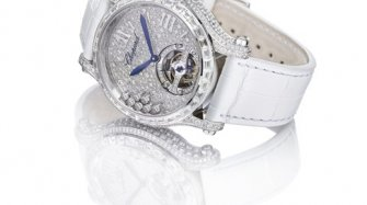 Baselworld 2014 : Happy Sport Tourbillon Joaillerie  Trends and style