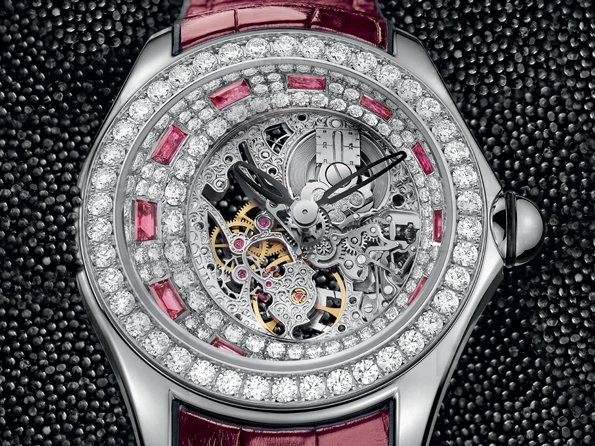 Corum - Bubble High Jewellery Skeleton