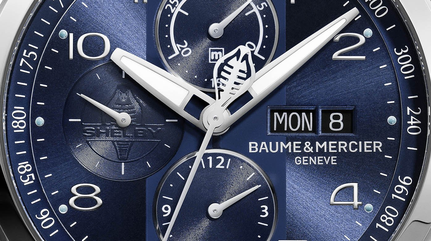 Baume & Mercier - Clifton Club Shelby® Cobra Bucherer Blue Editions