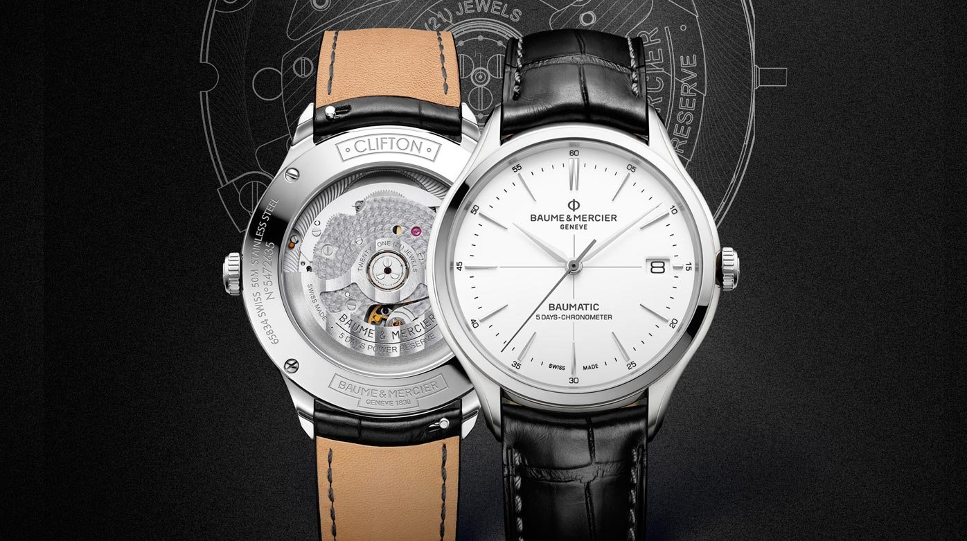 Baume & Mercier - The Baumatic: Baume & Mercier's masterstroke