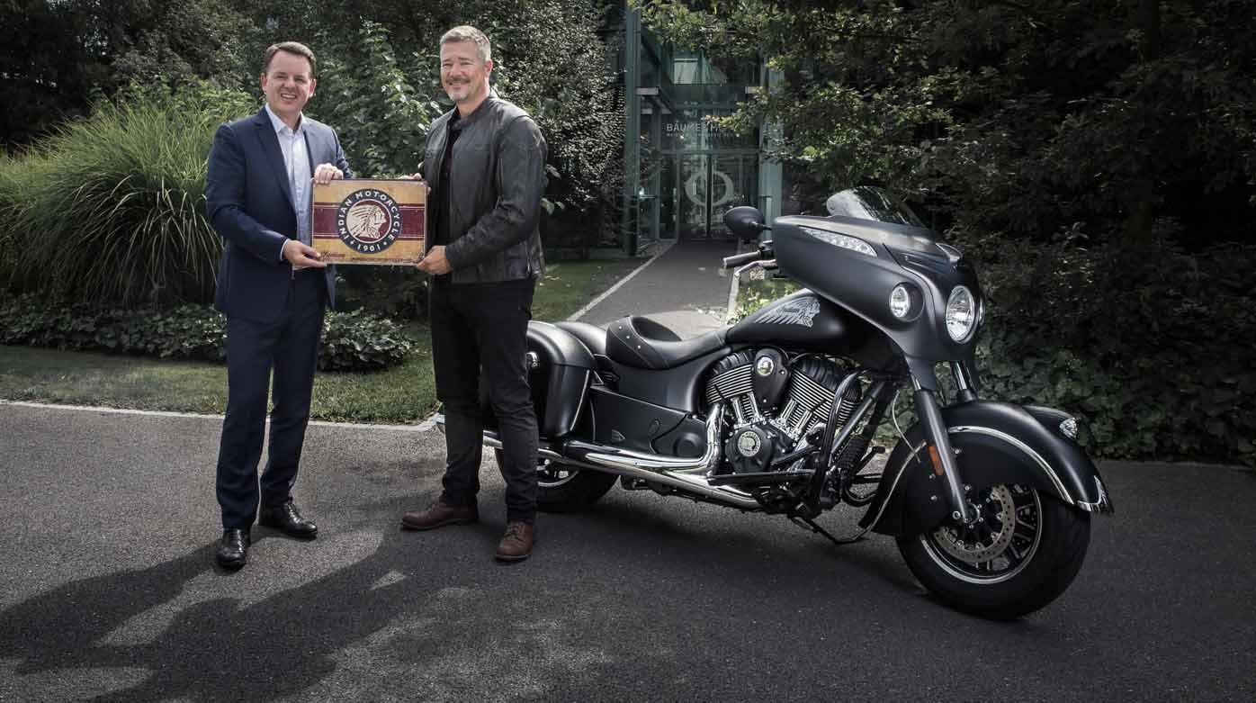 Baume & Mercier  - Partenariat avec Indian Motorcycle