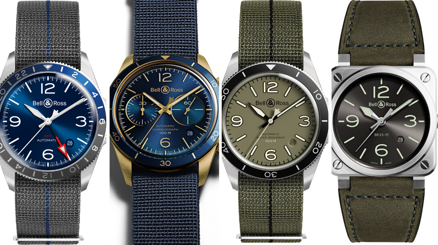 Bell & Ross - 3+1: The brand updates its accounts