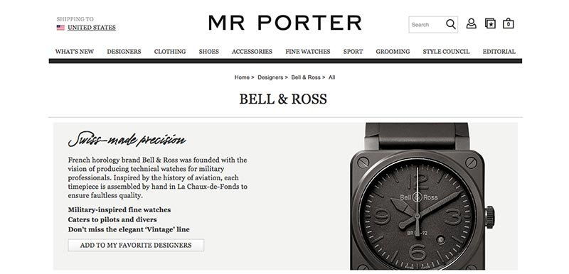 The challenges of buying new watches online